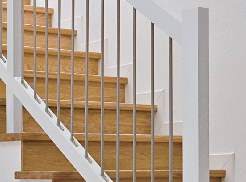 Ringhiere e rivestimenti per scale in muratura - Ringhiera scale interne ...